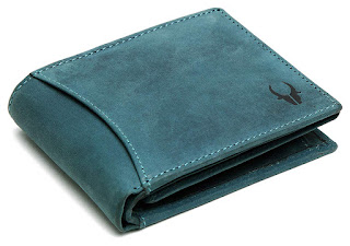 WildHorn® RFID Protected 100% Genuine High-Quality Men's Leather Wallet