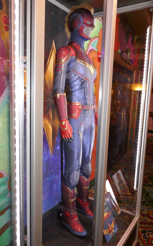 Captain Marvel film costume