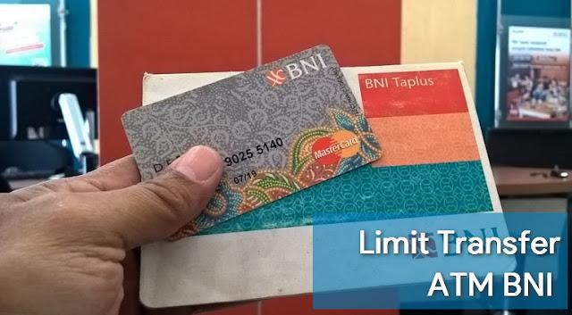 Limit Transfer ATM BNI