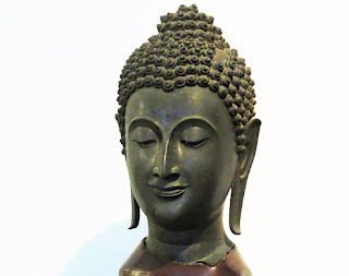 Buddha head sculpture (1)
