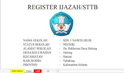 Aplikasi Register Ijazah