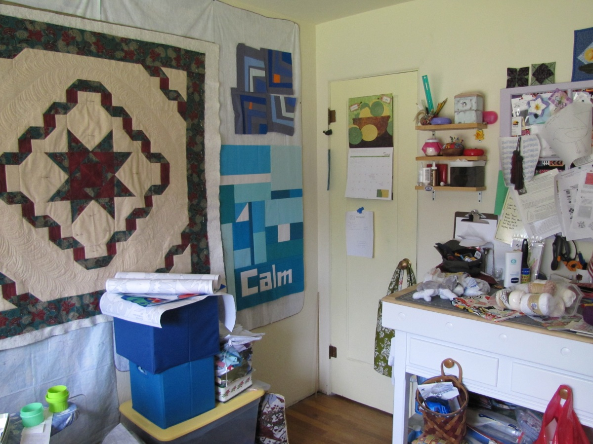 Alamosa Quilter Sewing Room Makeover Day 1