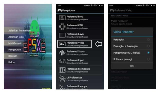 Setting ePSXe Supaya Lebih Smooth dan Kualitas Grafik HD