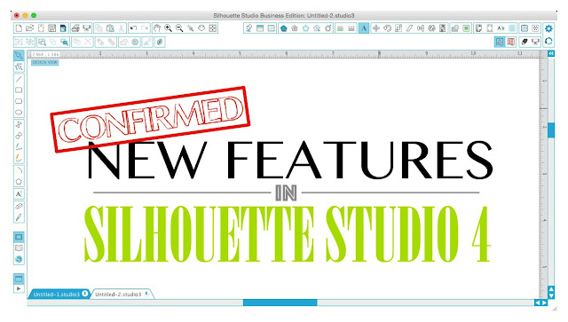 Silhouette Studio Version 4 V4 2016 update New features