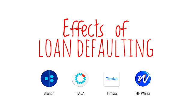 The impact of defaulting on loans a borrower