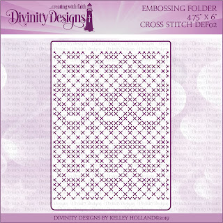 CROSS STITCH (EMBOSSING FOLDER)