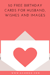 50 Free Birthday Cards For Husband,Wishes And Images