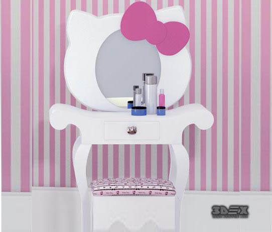 Girls Dressing Table Design Ideas For Kids Bedroom Interior 2019