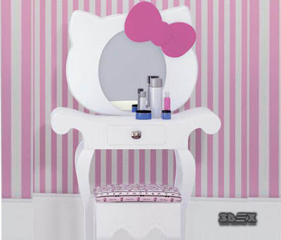 Girls dressing table design ideas for kids bedroom interior 2018