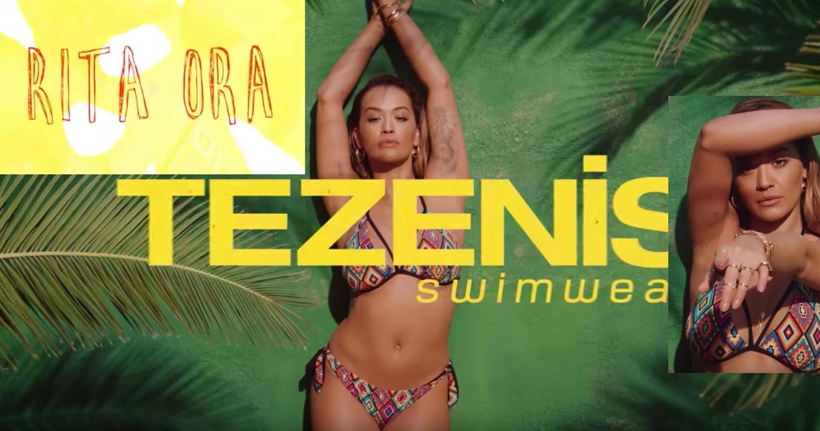 Canzone Tezenis pubblicità 2017 Rita Ora - Spot collezione costumi di Maggio