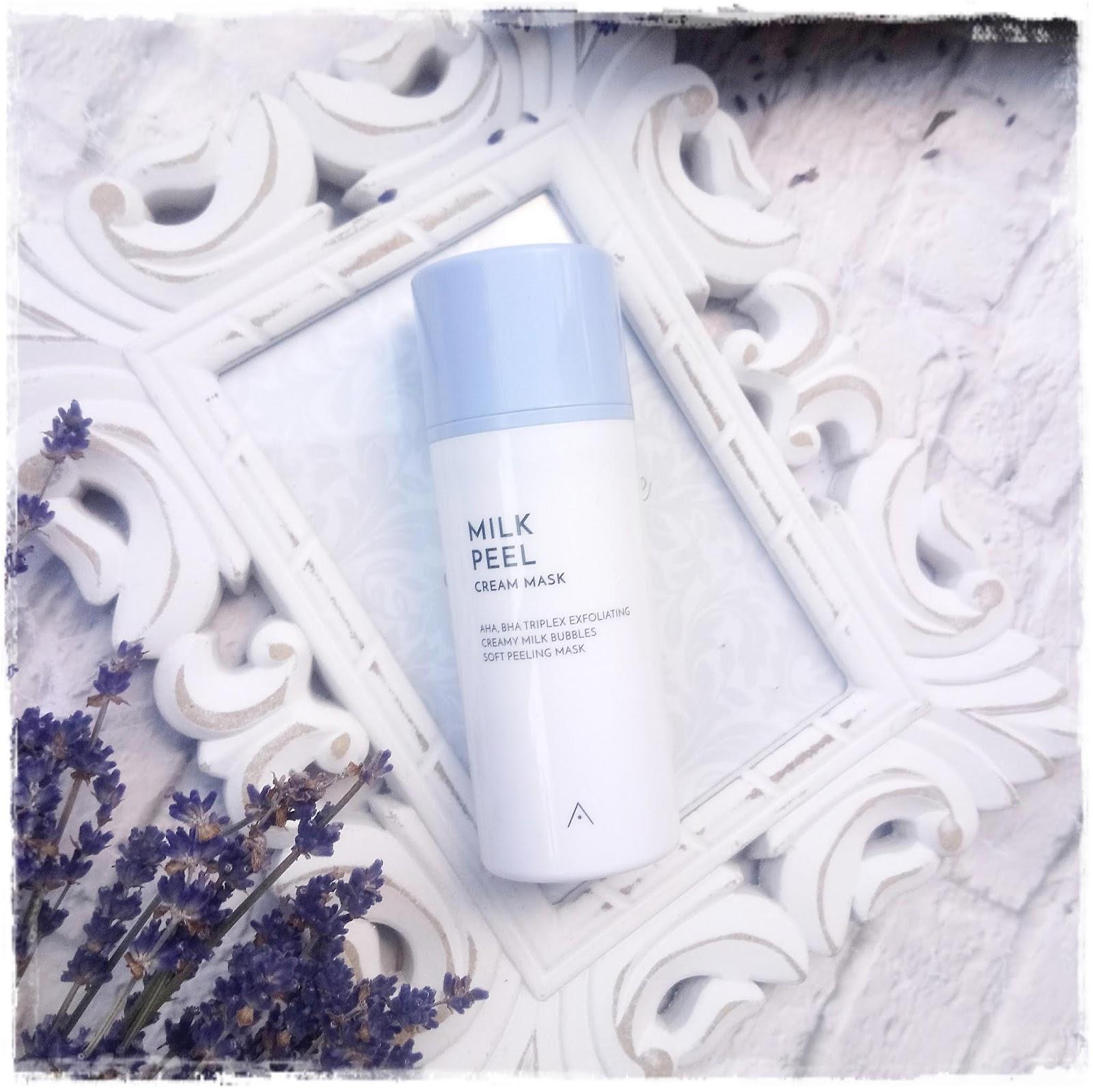 Althea Milk Peel Cream Mask, Kremowy Peeling Maska Prosto  z Koreii