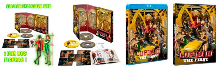 Lupin III: The First anime film - Selecta Visión