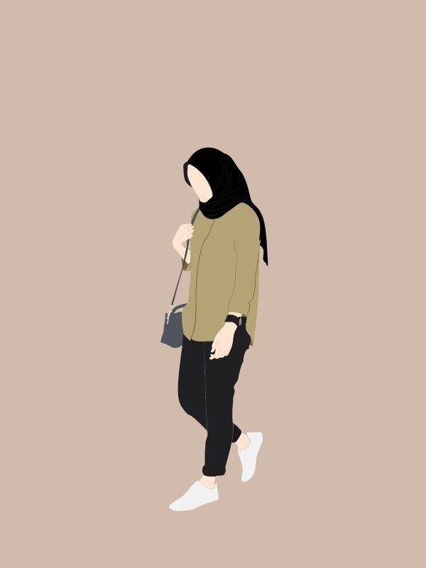 Foto profil wanita muslimah from cdn.kibrispdr.org berikut ini adalah kumpulan gambar kartun wanita hijab yang aesthetic. Gambar Pp Whatsapp Hijab Kartun Ilustrasi Gratis Part 2 Hallyuid