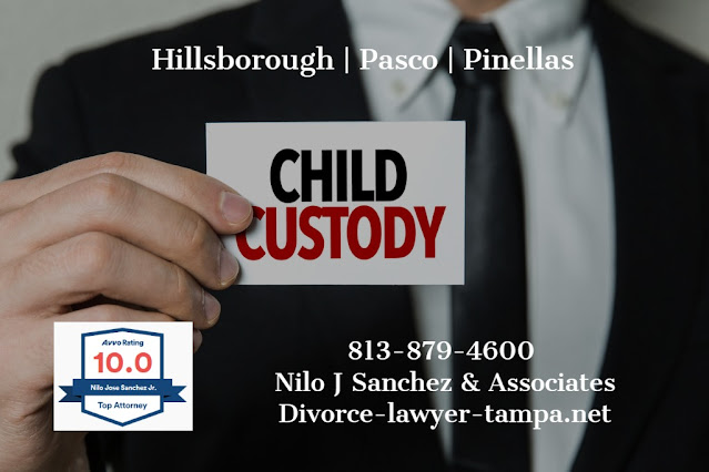 Tampa child custody attorneys Nilo J Sanchez
