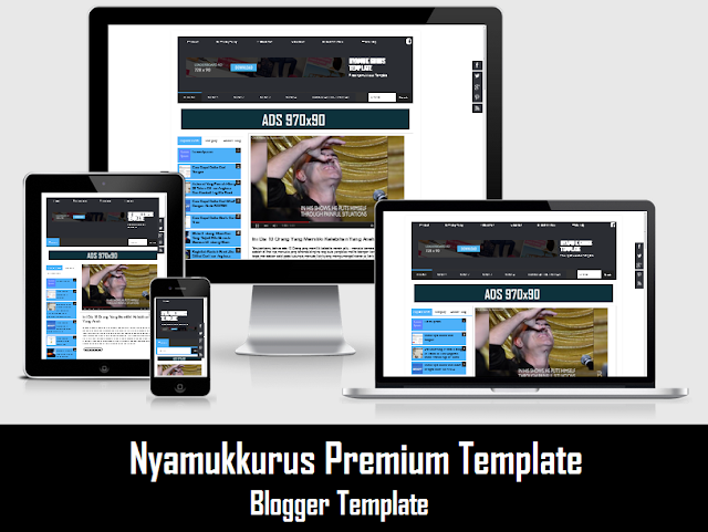 Template NYAMUKKURUS Blogger Version