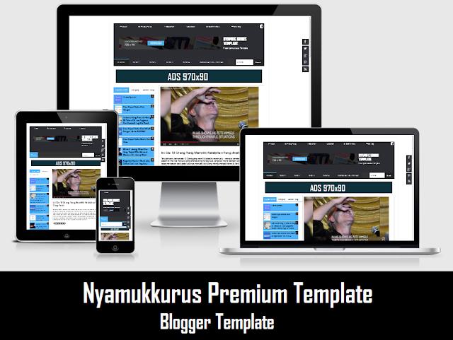 Template NYAMUKKURUS Blogger Version