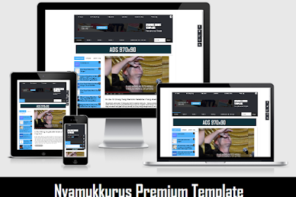 Download Template NYAMUKKURUS Blogger Version