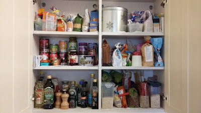 Stock take and store cupboards starting February
