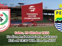 TSC 2016: PSM Makassar vs Persib