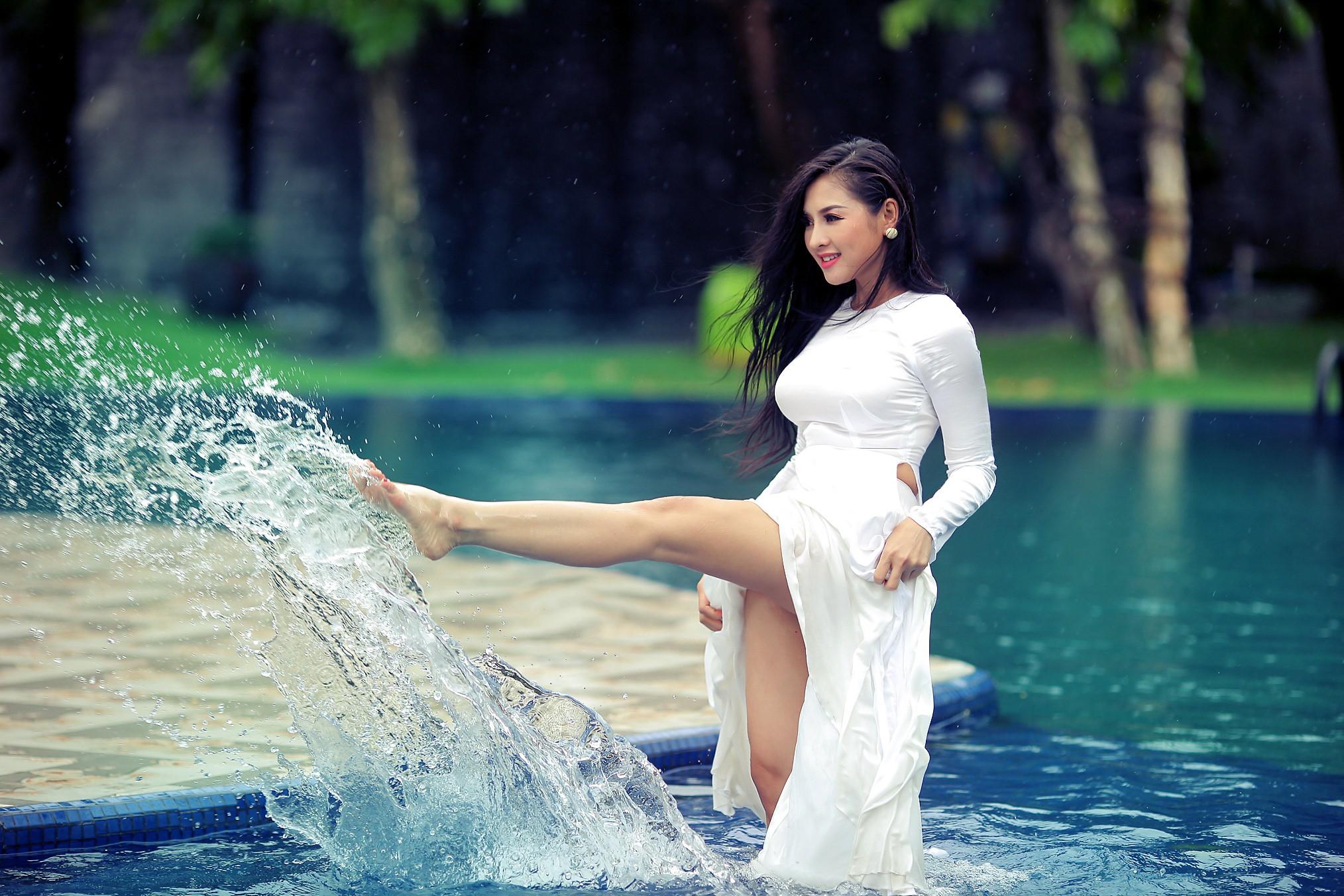Tuyển tập girl xinh gái đẹp Việt Nam mặc áo dài đẹp mê hồn #57 - 2