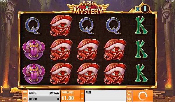 Main Slot Gratis Indonesia - Ark of Mystery (Quickspin)