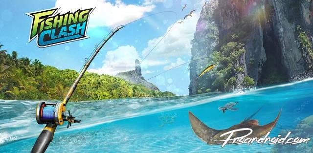 Fishing Clash مهكرة