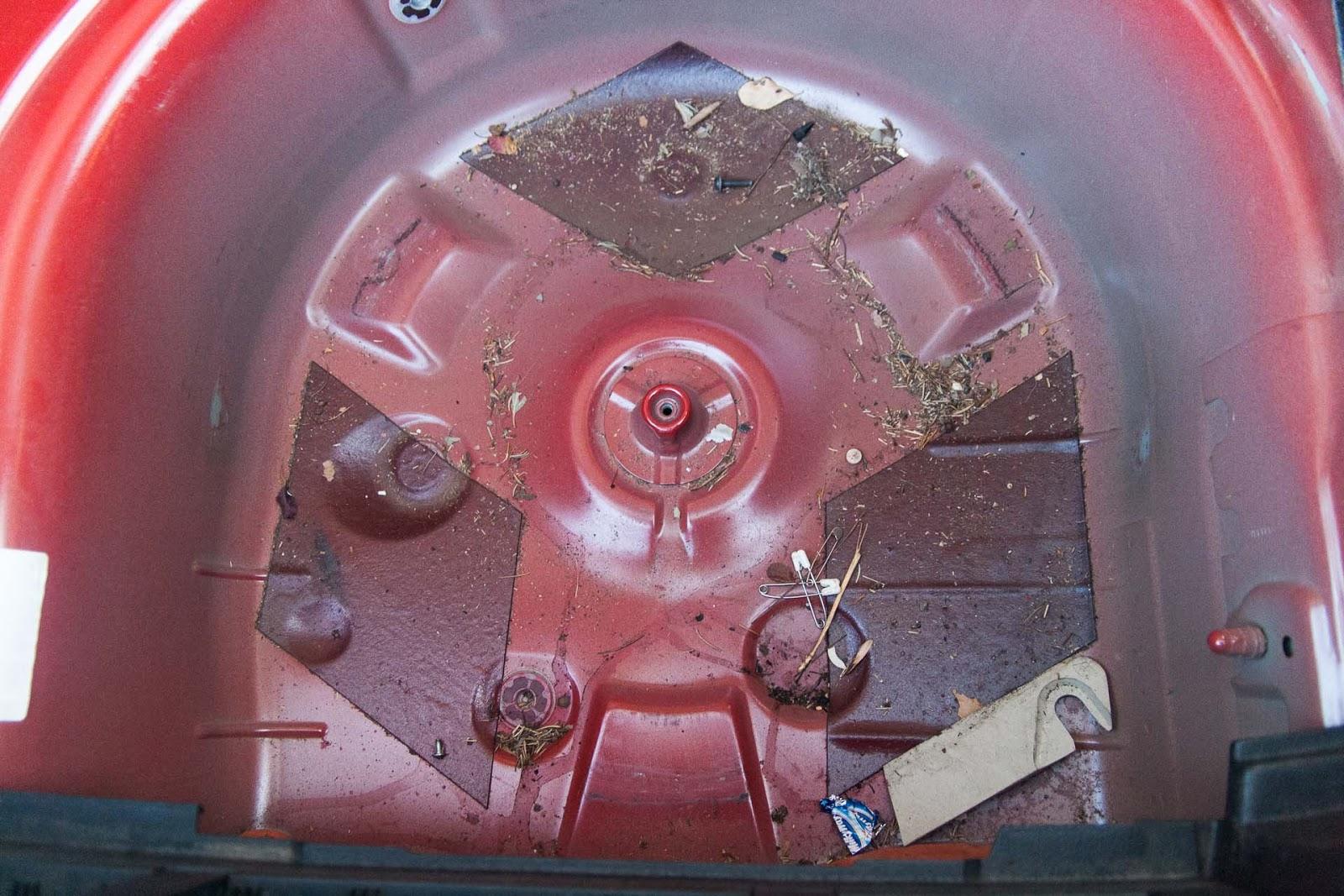 compartiment de roue de secours