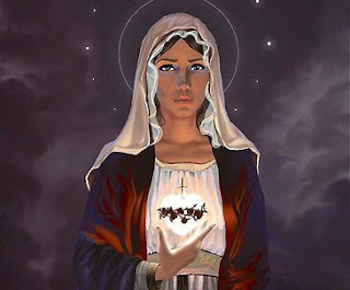 Fifth Day of the Novena Prayers to Our Lady of the Sacred Heart