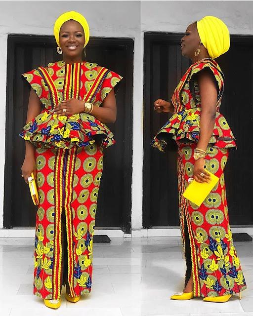 The 20 Best of Owambe Aso Ebi Dresses 55