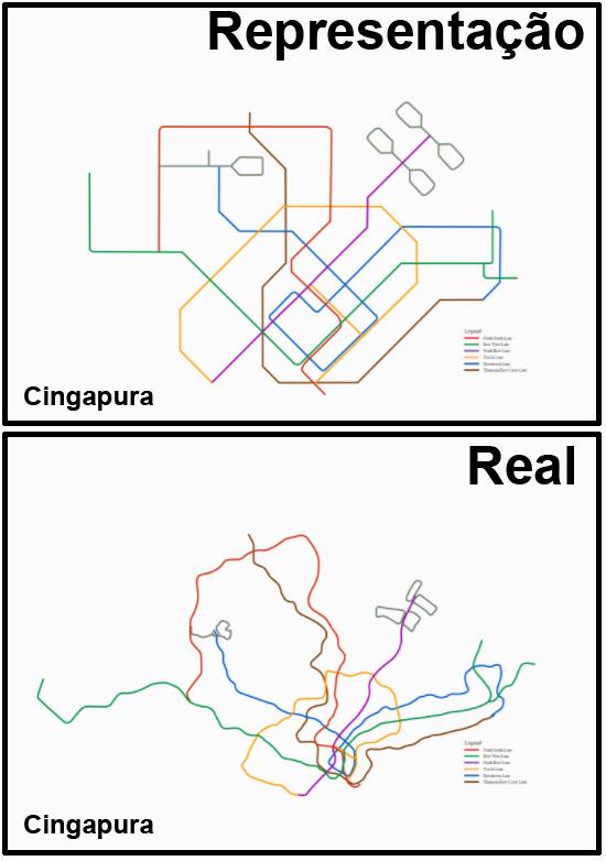 Mapas de Metros do mundo - Cingapura