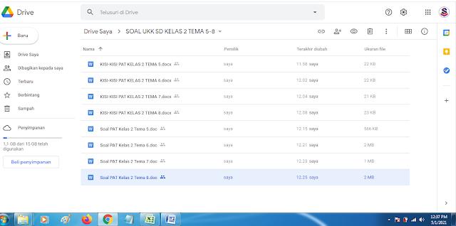 Download Soal UKK PAT Kelas 2 Semester 2 Kurikulum 2013 Lengkap Jawaban