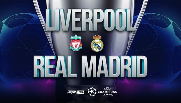 ESPN EN VIVO, Real Madrid vs. Liverpool por cuartos de UEFA Champions League