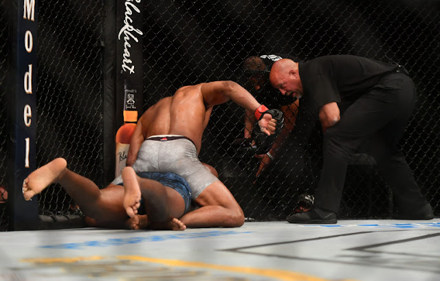 Alistair Overeem pounds Walt Harris UFC on ESPN 8