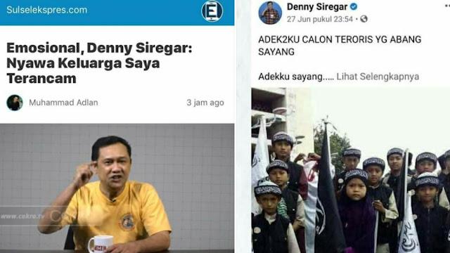 Denny Curhat Anak-anaknya Kini Dibully, tapi Lupa Dia Nulis Anak Orang Dicap Calon Teroris