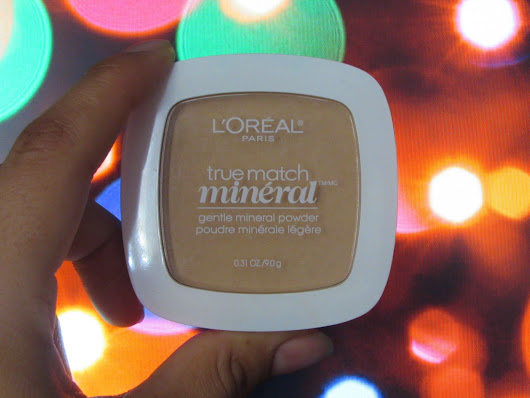 Product Review: Loreal True Match Mineral Pressed Powder