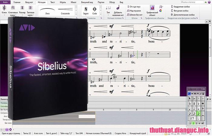 Download Avid Sibelius Ultimate 2018.12 Build 954 Full Crack, Avid Sibelius Ultimate, Avid Sibelius Ultimate free download, Avid Sibelius Ultimate full key, phần mềm soạn nhac, phần mềm soạn nốt nhac,