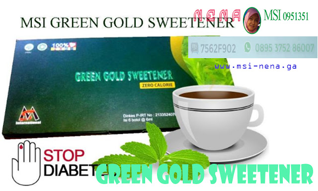 Green Gold Sweetener (Stop Diabetes)