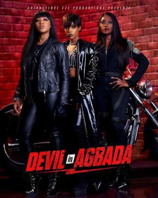 """BBNAIJA Lockdown Ex-Housemate, Erica Features Along Side Linda Osifo and Efe Irele In An Upcoming Movie Titled """"DEVIL IN AGBADA"""""""
