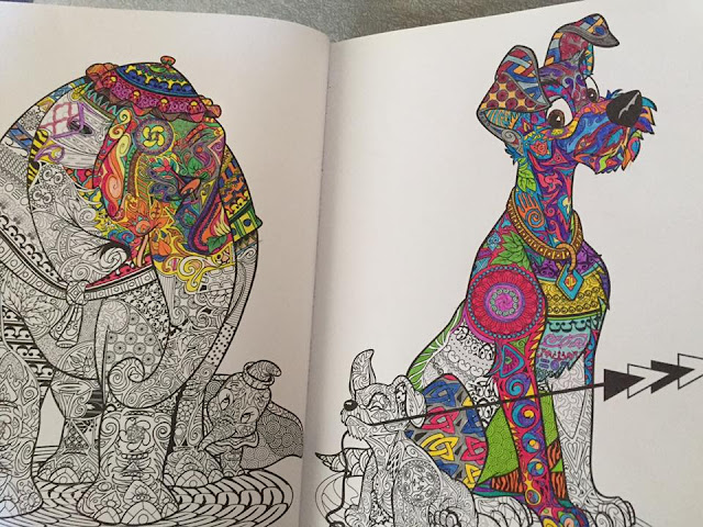 Art of Coloring: Disney Animals
