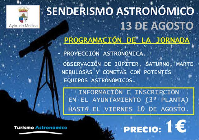 Senderismo Astronómico en Mollina