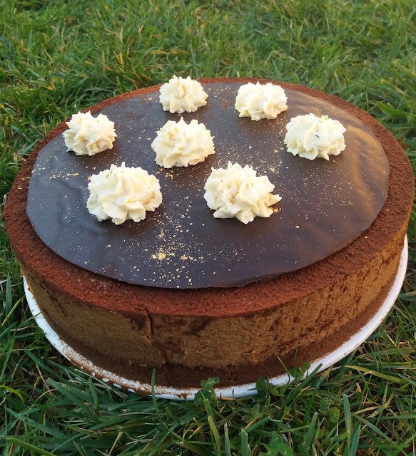 "alt=""bavarois caramel-praliné-chocolat"""