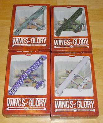 Wings of Glory: WW1 Special Packs