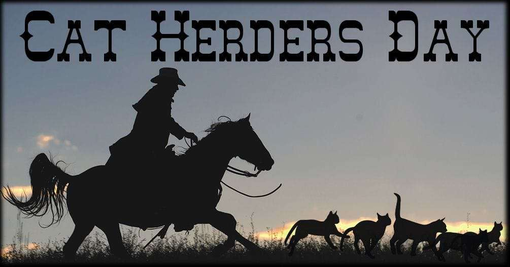 National Cat Herders Day Wishes Awesome Picture