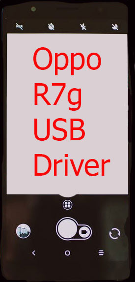 Oppo R7g USB Driver Download
