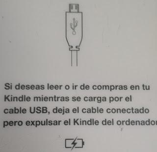 Kindle reconocido en pc