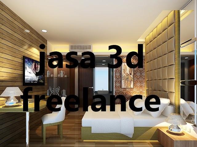 Jasa Render 3D Online  Freelance