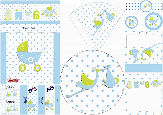 It´s a Boy! Free Printable Kit.