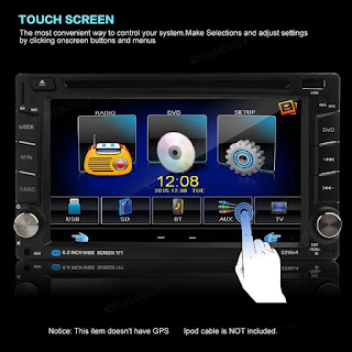 autoradio lettore dvd touch screen 2 din f6002b
