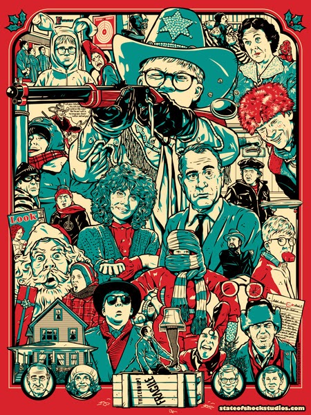 inside the rock poster frame blog christmas story the