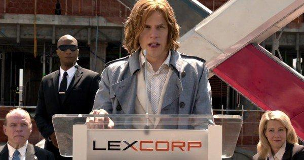 lex luthor justice league movie